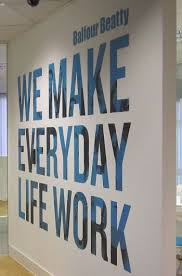 designs ideas wall design office. perfect design fabulous concept to incorporate bold lettering on the walls  our mission  vision or values find this pin and more office decor  to designs ideas wall design