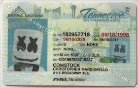 Cards Id Id-chief Premium Tennessee Maker Fake