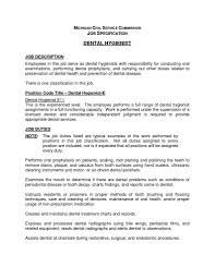 job description for a dentist valid dental assistant job description for resume vcuregistry org