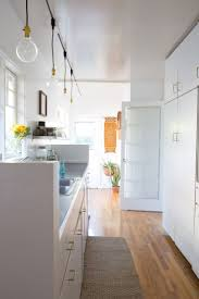 diy kitchen lighting. Say Goodbye To Dated Track Lighting With This Easy DIY Diy Kitchen G