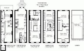 impressive inspiration 2 brownstone home plans row house floor balt row home plans house plan full