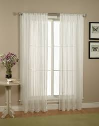 Marvelous Images Of Window Treatment Design And Decoration With Various  White Curtain : Marvelous Image Of