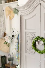 house decorating ideas spring. Foyer With Long-lasting Spring Goodness! I Love To Mix Faux And Real Florals Whenever Decorate. When You Add Something Fresh The Faux, House Decorating Ideas