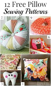 Pillow Patterns Enchanting 48 Free Pillow Patterns