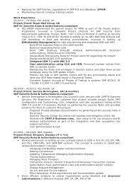 Sample Sap Resume Best of Sap Security Resume Rioferdinandsco