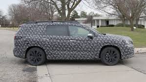 2018 subaru ascent 7.  ascent subaruu0027s new ascent sevenseat suv has been spied testing in the us to 2018 subaru ascent 7
