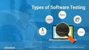Types Of Software Testing Types Of Software Testing Edureka