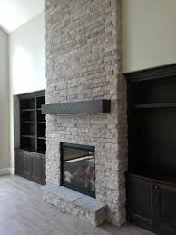 Fireplace Built Ins New Construction Indoor Fireplace Stone Fireplace Built Ins