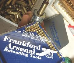 Frankford Arsenal Perfect Fit Reloading Tray Chart Frankford Arsenal Hand Priming Tool With Depth Adjustment