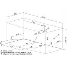 <b>Ванна акриловая Aquanet Izabella</b> 160x75 в Саратове – купить по ...