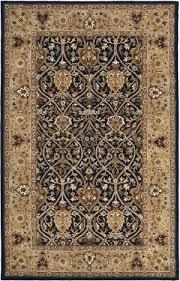safavieh persian legend pl819c blue gold area rug