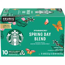 I have decided to try buying fresh coffee beans, and then having them ground at the store. Starbucks Spring Day Blend Medium Roast Ground Coffee K Cup Pods 10 Ct Box Shop Farmer S Market