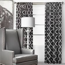 Contemporary Black And White Curtains L Intended Design Inspiration