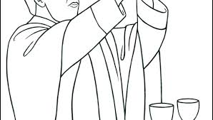Communion For Kids Coloring Pages Raovat24hinfo