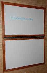 home office whiteboard. hidden whiteboard opened home office