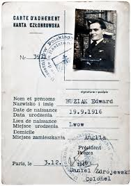 Card Ww2 Polish Id Resistance