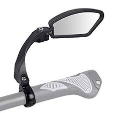 JVSISM <b>Unbreakable</b> Stainless Steel Lens 1Pc <b>Bicycle</b> Mirror Clear ...