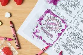 6 free printable, color-your-own Valentines that make the perfect ...