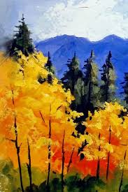 40 easy and simple landscape painting ideas deep blue sea landscaping and paintings