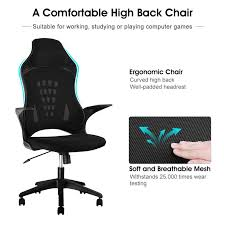 amazon chairs office. Langria Ergonomic High Back Mesh Office Chair Executive Amazon Gaming 360 Degree Swivel Chairs R