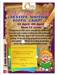 Rip The Page Creative Writing Bootcamp For Kids At 139