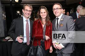 Jonathan Wade, Priscilla Vail Caldwell, Ben Whine at SCULPTURECENTER Annual  Gala / id : 1296135 by Will Ragozzino/