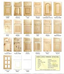 styles of kitchen cabinets chic styles of kitchen cabinet doors best cabinet door styles ideas on