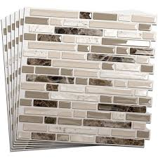 Smart Tiles Kitchen Backsplash Cheap And Easy Kitchen Makeover Using Smart Tiles From Home Depot