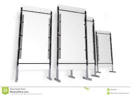 Free Standing Display Boards For Trade Shows Presentation Stand Isolated Illustration 100 Megapixl 26