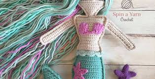Free Crochet Patterns Classy Ragdoll Mermaid Free Crochet Pattern Spin A Yarn Crochet
