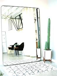 white leaning floor mirror. Ceiling To Floor Mirror White Leaning N