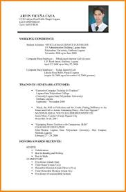 Example Of Best Resume Malaysia Resume Ixiplay Free Resume Samples