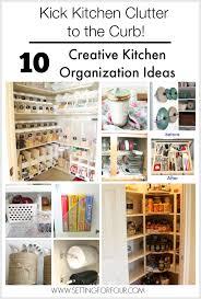40 Budget Friendly Creative Kitchen Organization Ideas Setting New Kitchen Organization Ideas
