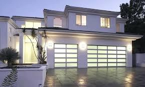 clear garage doors aluminum glass 4 panel 5 section melbourne