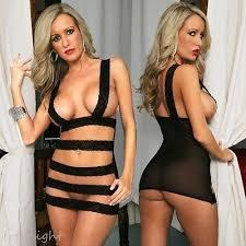 New Women Blk Love Sexy Lace Erotic Stripper Babydoll Lingerie Bedroom  Underwear