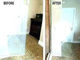 how to clean shower door cleaning doors baking soda glass cleaner window photo gallery gutter of
