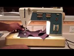 Singer Sewing Machine Model 756