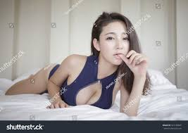 Sexy Beautiful Asian Japanese Model Young Stock Photo 527198845.