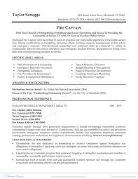Firefighter Resume Objective Examples Best of Firefighter Resume Inspirationa Firefighter Resume Examples As