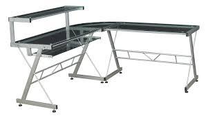 incredible unique desk design. Black Desk With Glass Top Hostgarcia Incredible Unique Design