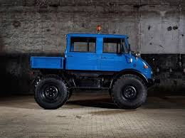 This Vintage Mercedes-Benz Unimog Is The Ultimate Truck | Car ...