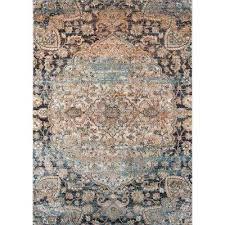 amelia navy blue 5 ft x 8 ft indoor area rug navy blue rug 5x7 navy