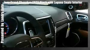 jeep 2014 srt8 black. 2014 black jeep grand cherokee srt8 with laguna leather sepia interior youtube srt8