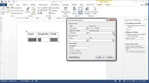 how to create a calculating checkbox in word applying microsoft word knowledge you