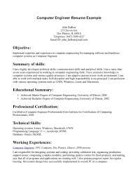 Objective Statement For Engineering Resume Electrical Career In