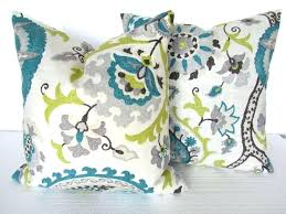 blue and green throw pillows. Modern Concept Teal Blue Throw Pillows With Decorative For Lime Green Pillow Idea And