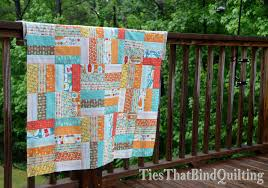 Jelly Roll Jam Quilt Top | Ties That Bind Quilting & It would probably be a white or gray so that the colors from the jelly roll  ... Adamdwight.com