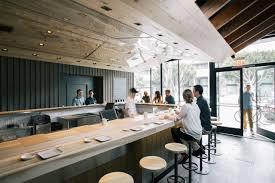 Marmol Radziner Designs Kazunori Interior Sushi Bar Design