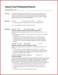 Unique Resume Summaries Memo Header