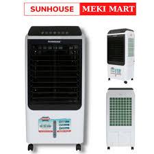 Quạt điều hòa hơi nước Sunhouse SHD7727 công suất 150W dung tích 40L tiết  kiệm điện năng bảo hành 12 tháng [ĐƯỢC KIỂM HÀNG] 44906592 - 44906592 | Quạt  hơi nước, phun sương